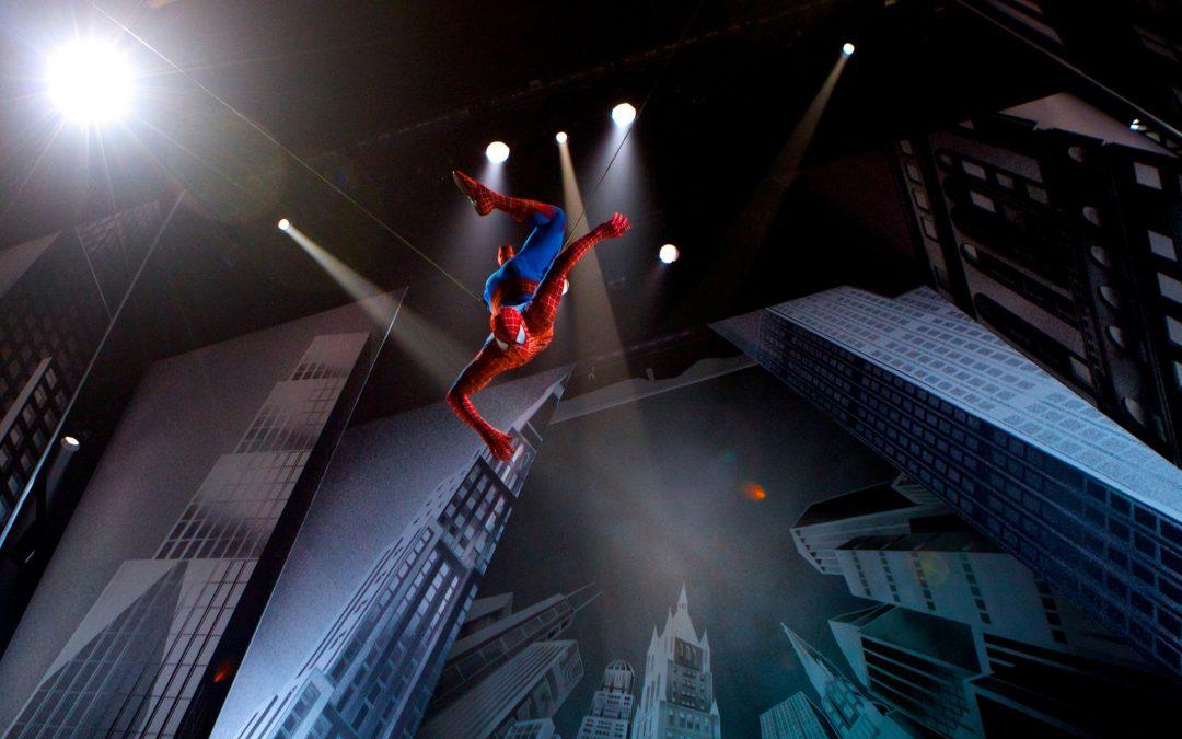 Spiderman Turn off the Dark